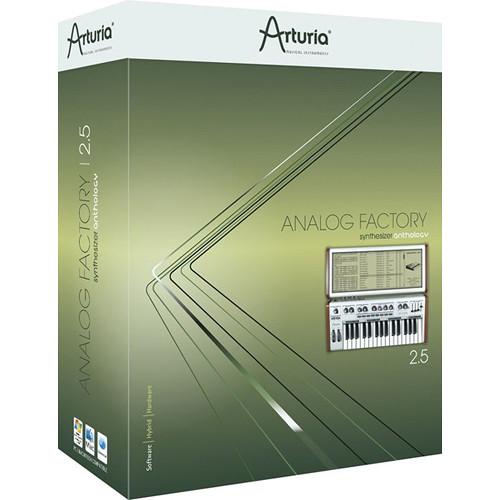 Arturia Analog Factory 2.5 - Virtual Synthesizer