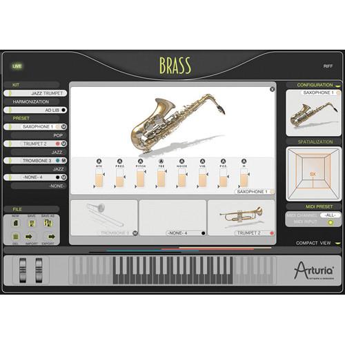 Arturia BRASS 2 - Virtual Instrument