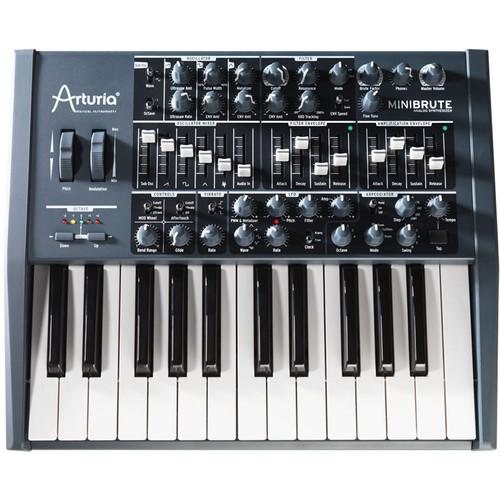 Arturia MiniBrute Full-Blast Analog Monophonic Synthesizer