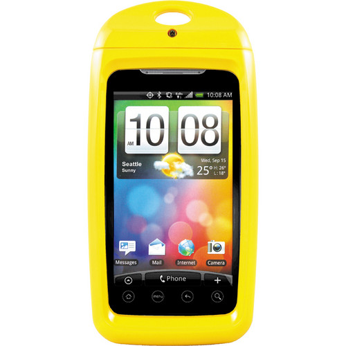 Aryca Tide Waterproof Smartphone Case (Yellow)