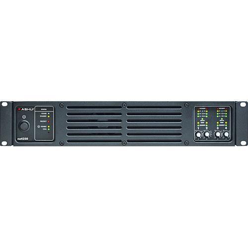 Ashly ne4250 4-Channel Network Enabled Amplifier  (4 x 250W @ 4 Ohms)