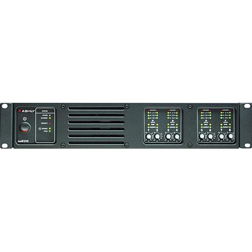 Ashly ne8250PE 8-Channel Network Enabled Amplifier w/ DSP (8 x 250W @ 4 Ohms)