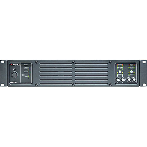 Ashly ne4250.70pe Network-Enabled 250W Four-Channel 70V Amplifier with DSP