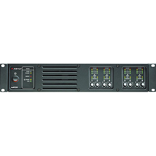 Ashly ne8250.70 Network Enabled Eight-Channel Amplifier 250W @ 70V