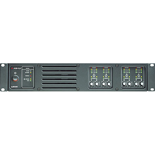 Ashly ne8250.70pe Network Enabled Eight-Channel Amp 250W @ 70V & DSP