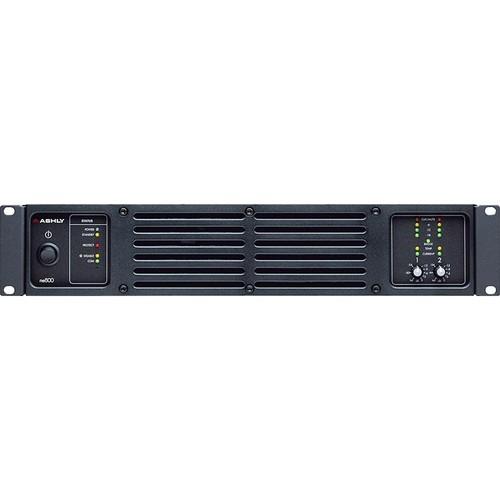 Ashly ne800pe Network-Enabled Stereo Power Amplifier (225W/Channel @ 8 Ohms)