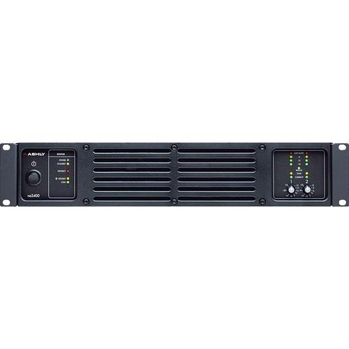 Ashly ne2400 Network-Enabled Stereo Power Amplifier (700W/Channel @ 8 Ohms)
