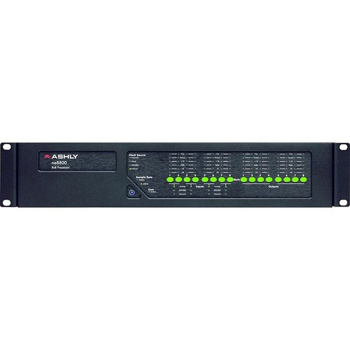 Ashly ne8800m - Digital Signal Network Processor
