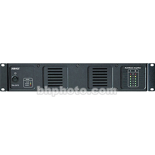 Ashly TRA-2075 -  Rackmount Stereo Power Amplifier w/Transformer