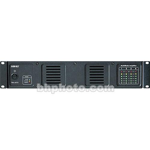 Ashly TRA-4075 -  Rackmount 4-Channel Power Amplifier w/Transformer