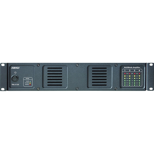 Ashly TRA-4150 Rackmount 4-Channel Power Amplifier with Transformer