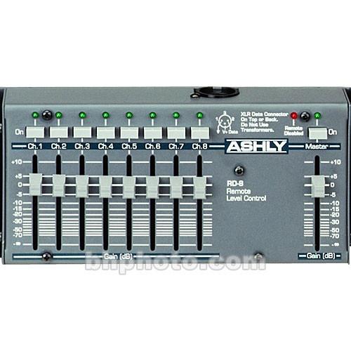 Ashly RD-8C - 8-Channel Desktop Remote for VCM-88C