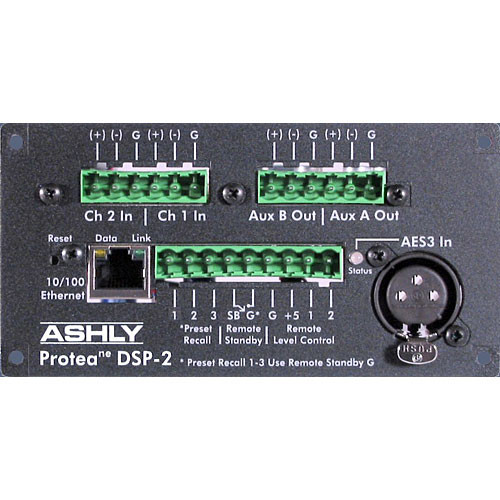 Ashly DSP-2 - DSP Card for PE-Series Amplifiers (Euroblock)