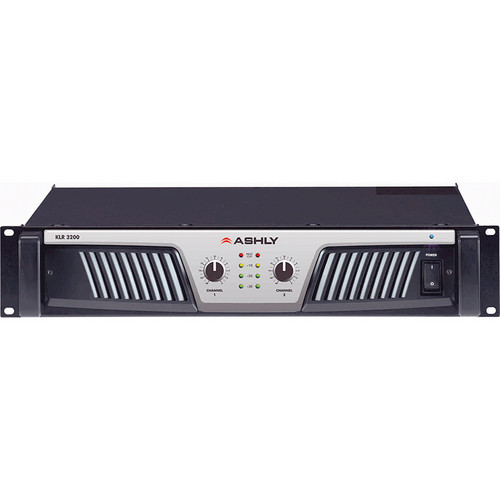 Ashly KLR-3200 Stereo Power Amplifier (650W/Channel @ 8 Ohms Stereo)