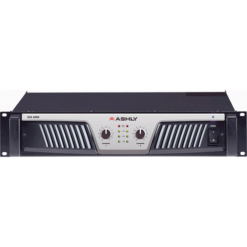 Ashly KLR-4000 Stereo Power Amplifier (850W/Channel @ 8 Ohms Stereo)