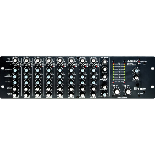 Ashly MX508 Stereo Microphone Mixer