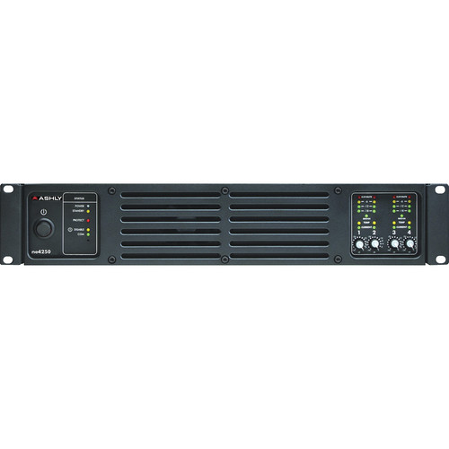 Ashly ne4250.70 Network Enabled Four-Channel Amplifier with ProTea DSP 250W @ 70V