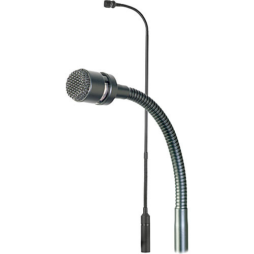 "Astatic AS920 Cardioid Condenser Gooseneck Microphone with Rigid Base and Flexible Top (20"")"