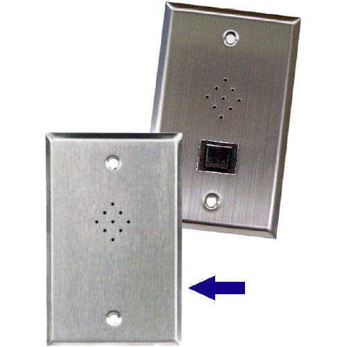 Astatic VM-625 Outlet-Box Mounted Dynamic Microphone