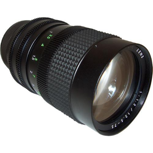 AstroScope 12.5-75mm f/1.2 C-Mount Zoom Lens