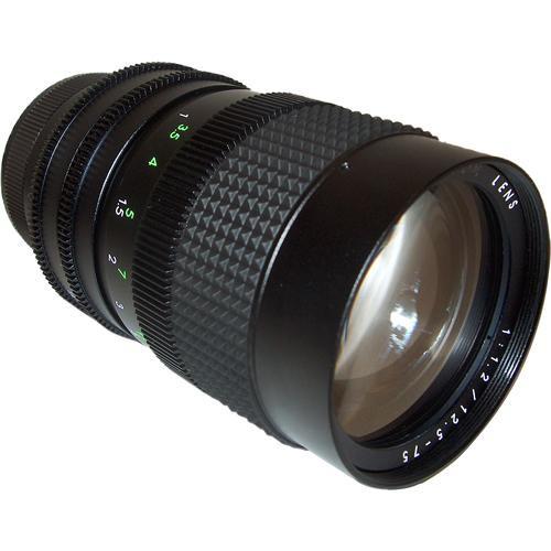 AstroScope 12.5-75mm f/1.2 C-Mount Zoom Lens