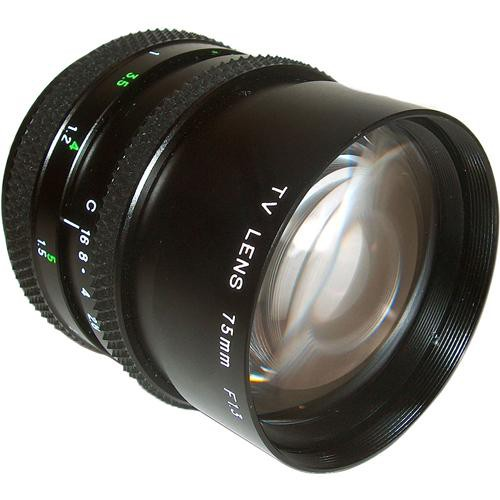 AstroScope 75mm f/1.4 C-Mount Lens