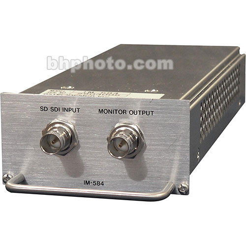 Astro Design Inc IM-584 Input Module - for SC-2055, SDI Standard Definition Input