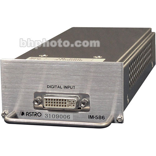 Astro Design Inc IM-586 Input Module - for SC-2055, Digital RGB DVI Input