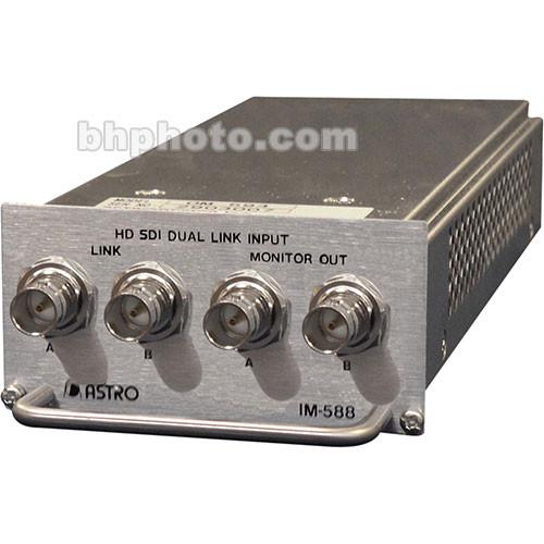 Astro Design Inc IM-588 Input Module - for SC-2055, HD-SDI Dual Link