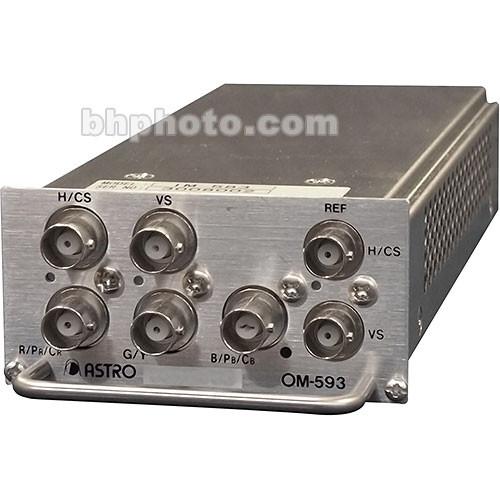 Astro Design Inc OM-593 Output Module - for SC-2055, Analog Video, RGBHV, YPbPr