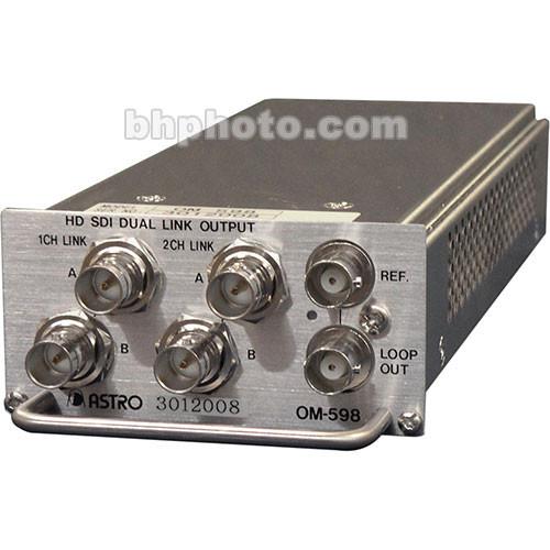 Astro Design Inc OM-598 Output Module - for SC-2055, HD-SDI HD, Dual Link