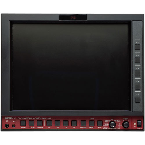 "Astro Design Inc WM-3208 8"" Dual Link HD/SD Portable Waveform & Vector Scope LCD Monitor"
