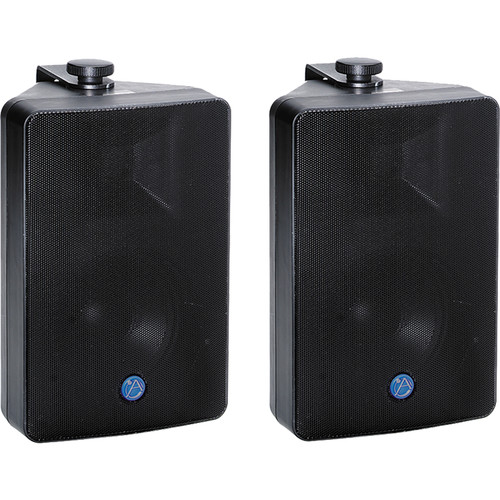 Atlas Sound Basic Two-Zone, 70V Wall Mounted Sound System for up to 1,000 sq ft.