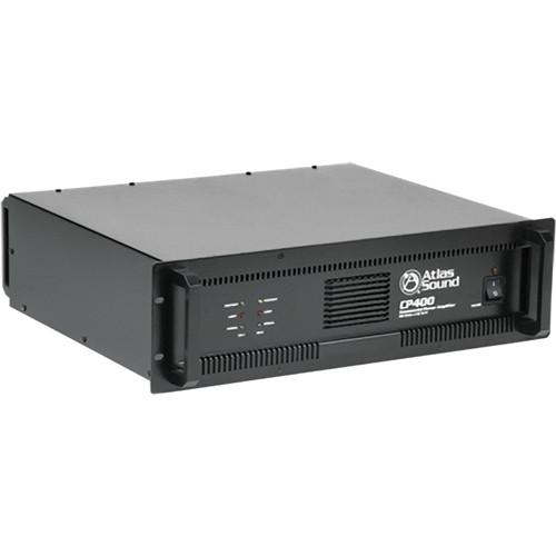 Atlas Sound CP400 Dual Channel Commercial Power Amplifier