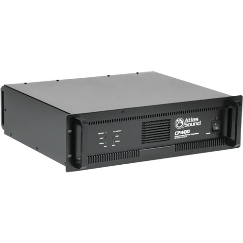 Atlas Sound CP400 Dual Channel Commercial Power Amplifier