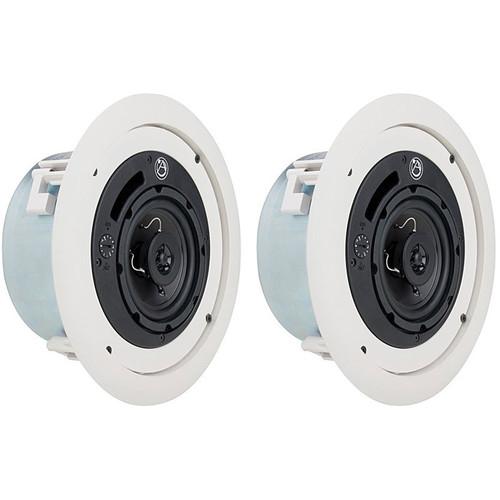 Atlas Sound FAP42TC Coaxial Ceiling Speakers (Pair)