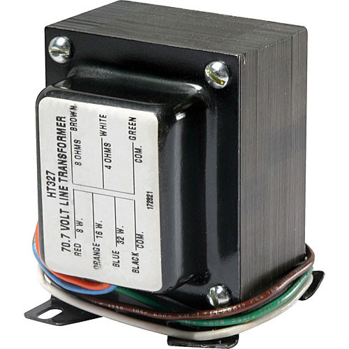 Atlas Sound HT327 - 32W, 70.7V Transformer