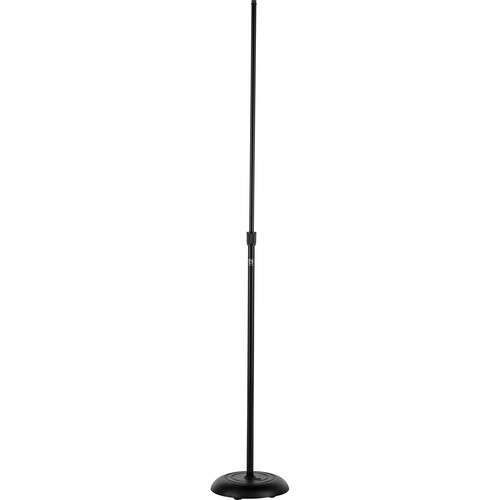 Atlas Sound MS-10CE - Leader Stand Series Round Base Microphone Stand (Black)