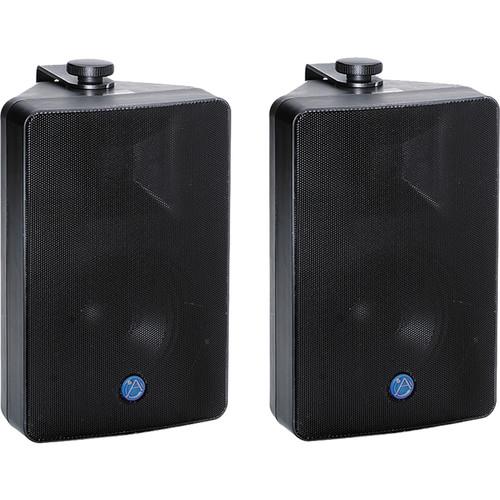 Atlas Sound SM52T Strategy Series Surface Mount Loudspeaker (Black, Pair)