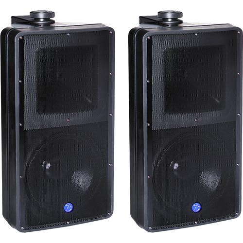 Atlas Sound 2-Way SM82T Speaker System (Pair, Black)