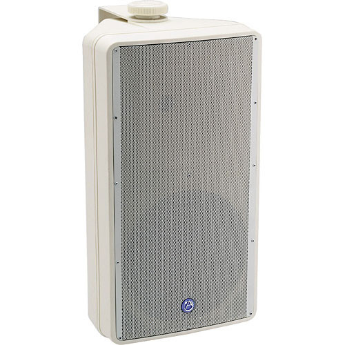 Atlas Sound SM82TW Weather Resistant Speaker with Internal Transformer (White)