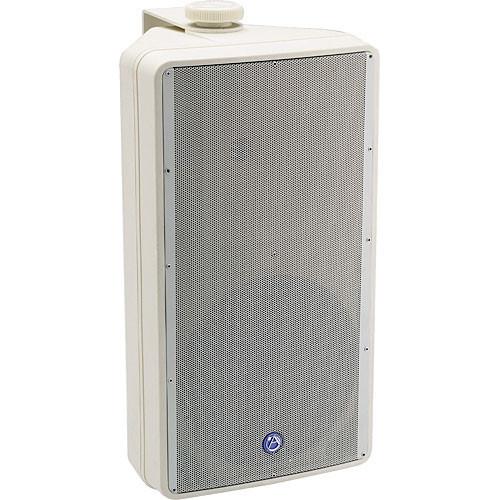 Atlas Sound SM82TW Weather Resistant Speaker with Internal Transformer (White)