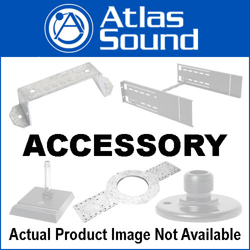 Atlas Sound SM8CBKT - Mounting Bracket for SM8SUB70 and SM8CXT (White)