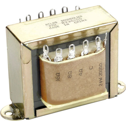 Atlas Sound T18 - 60W, 70.7V Line-Matching Transformer