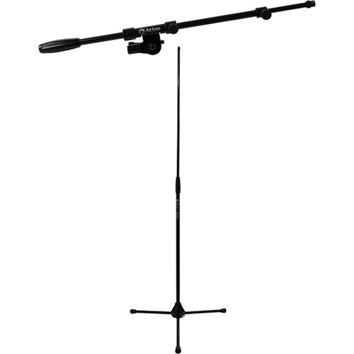 "Atlas Sound T3664 and B2237 Platinum Design Series 64"" Tripod and Boom Kit"