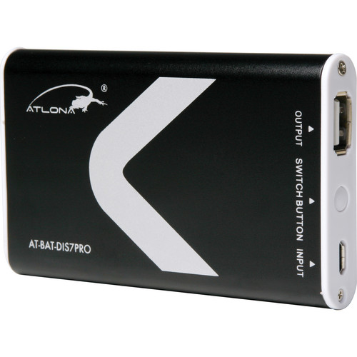 Atlona 5 Hour Portable Battery for AT-DIS7-PROHD