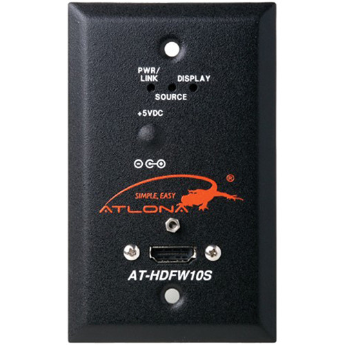 Atlona AT-HDFW10S Wall Plate Style HDMI Transmitter