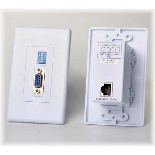 Atlona Passive VGA Extender Wall Plate Receiver
