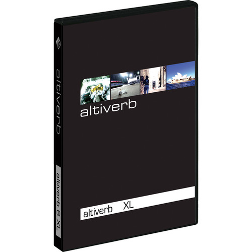 Audio Ease Altiverb 7 XL - Convolution Reverb Plug-In with Pro Tools TDM Support (Upgrade from Altiverb 5 HTDM)