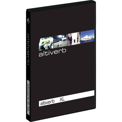 Audio Ease Altiverb 7 XL - Convolution Reverb Plug-In with Pro Tools TDM Support (Upgrade from Altiverb 7)